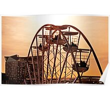 Big Wheel Sundown Poster