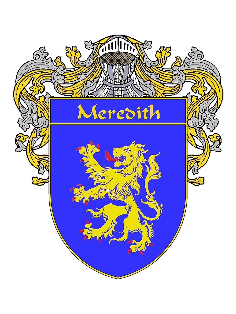 Meredith Coat of Arms/Family Crest by William Martin