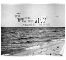 Psalm 91 Wings Trust Poster
