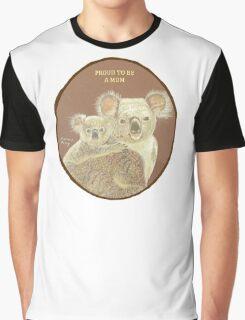 Koala Bears - Mama Bear and Baby Bear Graphic T-Shirt