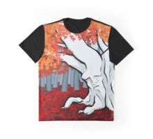 Weirwood tree in the Godswood Graphic T-Shirt