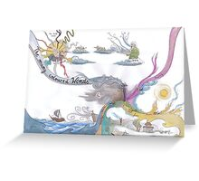 2 - Caitlin Matthews - The Many Coloured Winds Greeting Card