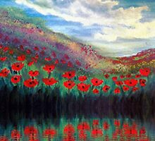 Poppy wonderland by Holly Martinson