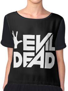 Evil Dead Chiffon Top