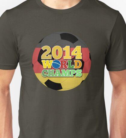 2014 World Champs - Germany Unisex T-Shirt