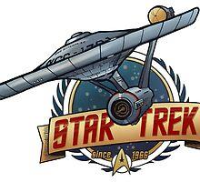 Star Trek Since 1966 by inhonoredglory