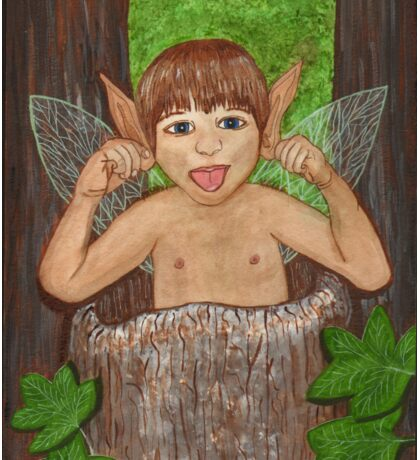 Finwe - Fairy - Elf Boy Art Sticker