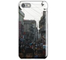 Crowded People, never to miss... iPhone Case/Skin