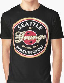 Grunge Seattle Washington Graphic T-Shirt