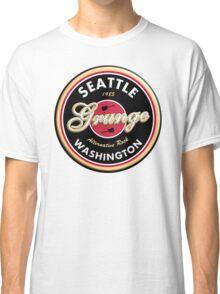 Grunge Seattle Washington Classic T-Shirt