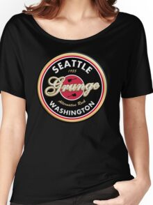 Grunge Seattle Washington Women's Relaxed Fit T-Shirt