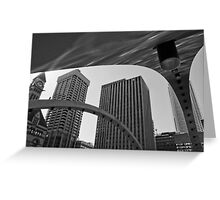 City Hall Arches Greeting Card