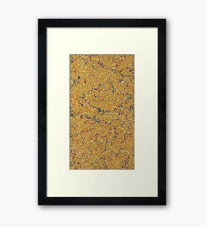 The Art of Paper Framed Print