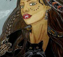 Dark Arts Sorceress - Witch Art Sticker