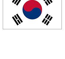 South Korea Flag by kwg2200