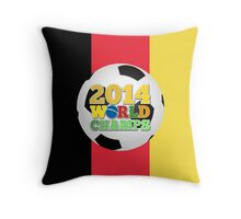 2014 World Champs Ball - Belgium Throw Pillow