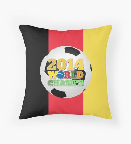 2014 World Champs Ball - Belgium Throw Pillow