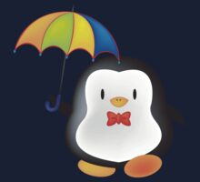 umbrella penguin Kids Clothes