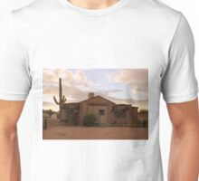 Abandoned Broasted Chicken Stand At Sunset Unisex T-Shirt