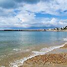 Stormy Summer Morning At Lyme Regis by Susie Peek