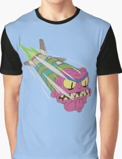 Rick and Morty - Scary Terry Missile Graphic T-Shirt