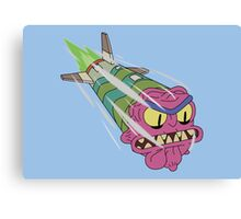 Rick and Morty - Scary Terry Missile Canvas Print