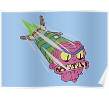 Rick and Morty - Scary Terry Missile Poster