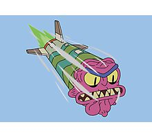 Rick and Morty - Scary Terry Missile Photographic Print