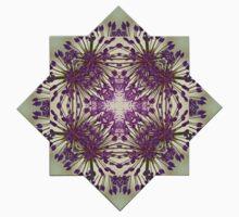 Kaleidoscope Flowers One Piece - Short Sleeve