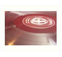 Pastel Vinyl 2 Art Print