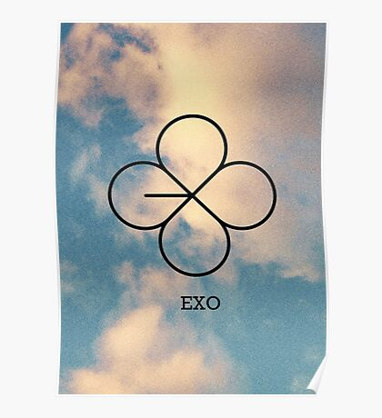 Lucky One Sky - EXO Poster
