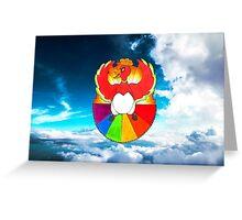 #250 Ho-oh - Pride Greeting Card