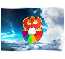 #250 Ho-oh - Pride Poster