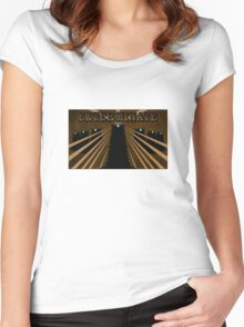 Doctor Who Dalek Exterminate Women's Fitted Scoop T-Shirt