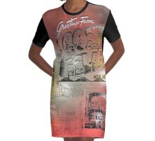 coney island Graphic T-Shirt Dress