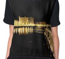 Sydney Harbour  Chiffon Top