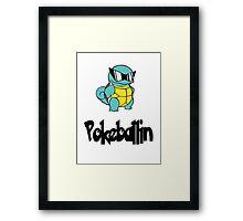 Pokeballin Framed Print