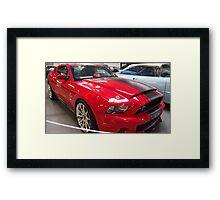 Shelby Cobra Super Snake Framed Print