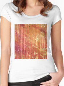 Abstract.30 Women's Fitted Scoop T-Shirt