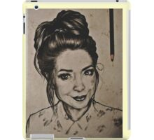 Zoella portrait iPad Case/Skin