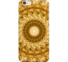 Golden Rush Mandala iPhone Case/Skin