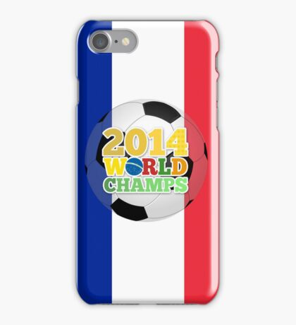 2014 World Champs Ball - France iPhone Case/Skin