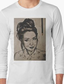 Zoella portrait Long Sleeve T-Shirt