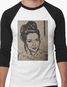 Zoella portrait Men's Baseball ¾ T-Shirt