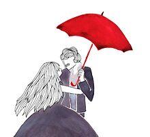 Le parapluie - G.Brassens by zahrla