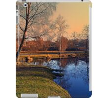 Winter mood on the river IV | waterscape photography iPad Case/Skin