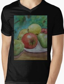 Fruit on a Plate WC150425 Mens V-Neck T-Shirt