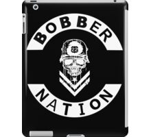 Bobber Nation White iPad Case/Skin