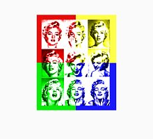 Many Faces Of Marilyn Monroe Womens Fitted T-Shirt