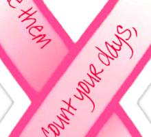 Breast Cancer Support Shirt Sticker